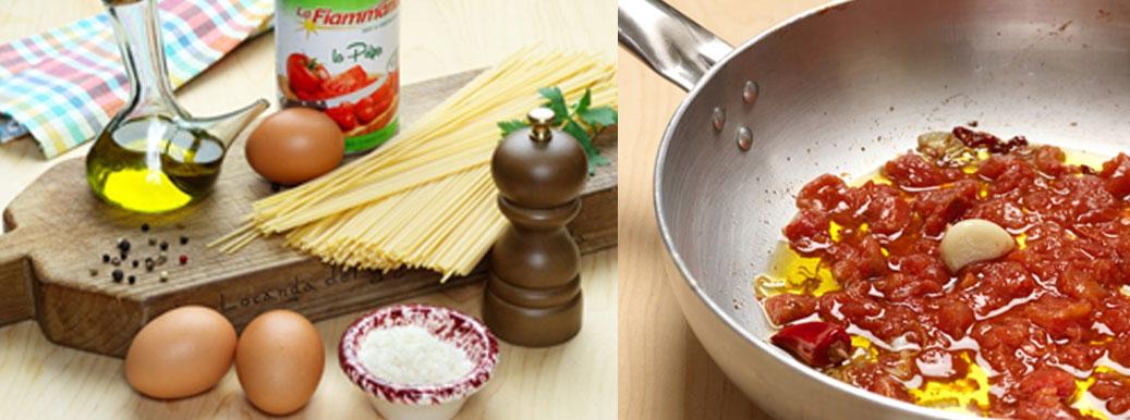 Pasta all'arrabbiata Mediterrane Produkte