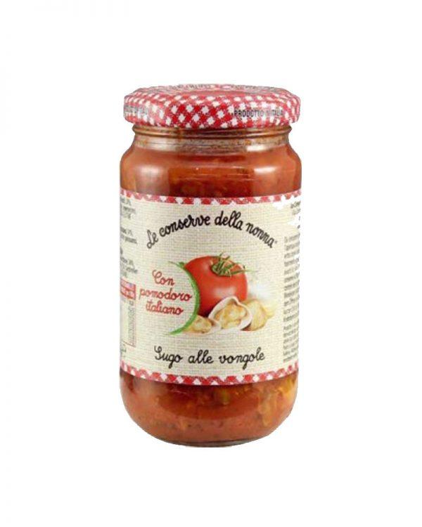Sugo alle vongole Tomatensoße mit Muscheln