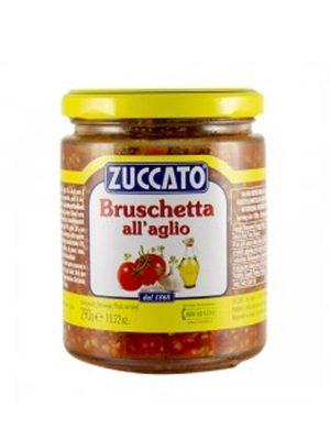 Tomaten Bruschetta Aufstrich mit Knoblauch